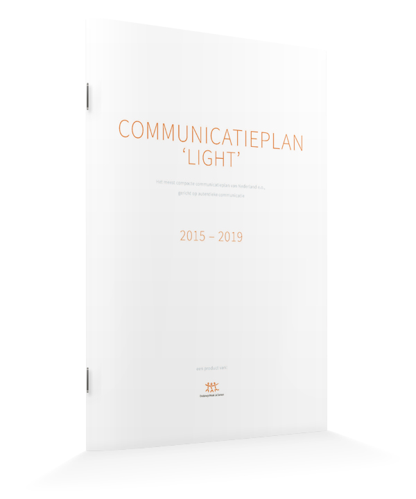 Communicatieplan 'light'